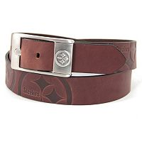 Men's Pittsburgh Steelers Brandish Leather Belt