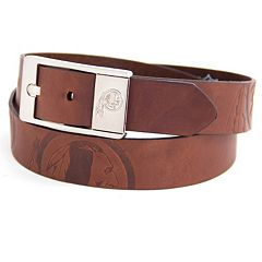 Men's Washington Redskins Brandish Leather Belt