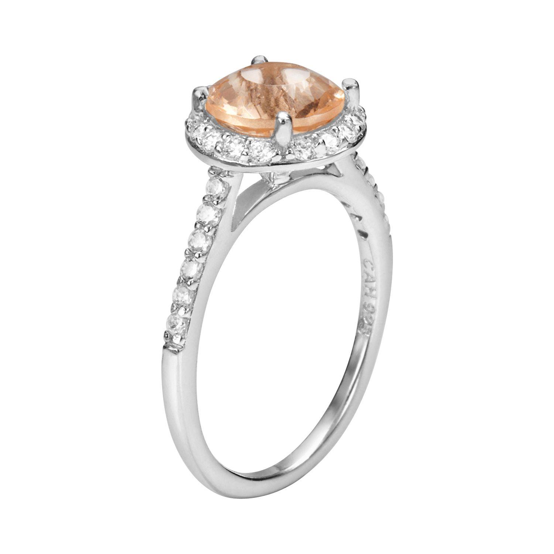 Fine Morganite Rings Jewelry