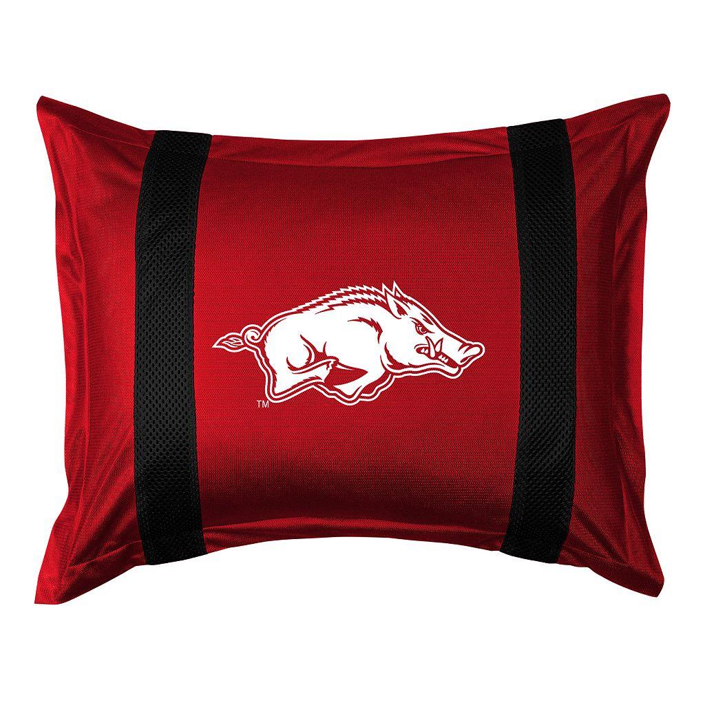 Arkansas Razorbacks Standard Pillow Sham