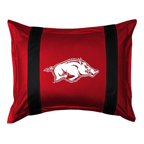 Arkansas Razorbacks Standard Pillow Sham