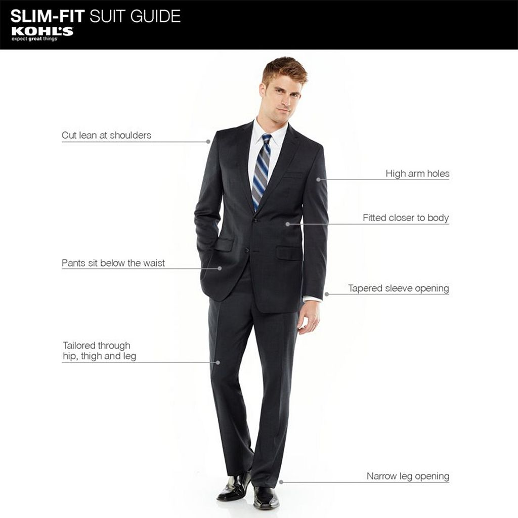 Men's Apt. 9® Slim-Fit Striped Suit Pants