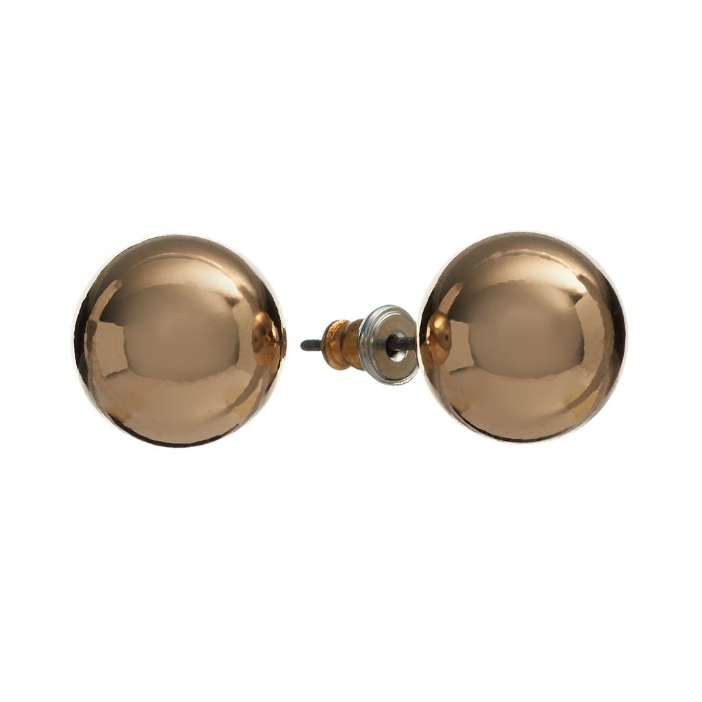Dana Buchman Ball Stud Earrings