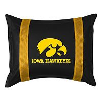 Iowa Hawkeyes Standard Pillow Sham