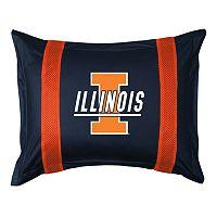 Illinois Fighting Illini Standard Pillow Sham