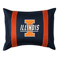 Illinois Fighting Illini Standard Pillow Sham