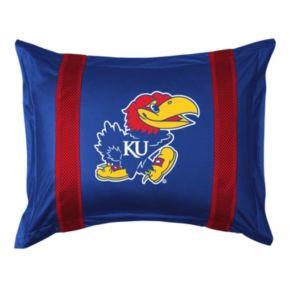 Kansas Jayhawks Standard Pillow Sham