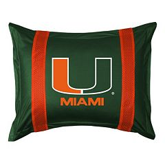Miami Hurricanes Standard Pillow Sham