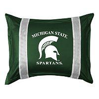 Michigan State Spartans Standard Pillow Sham