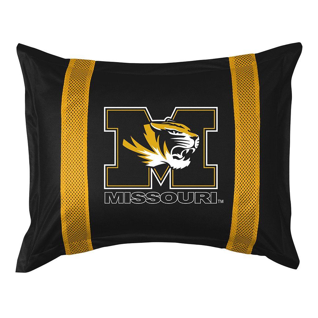 Missouri Tigers Standard Pillow Sham