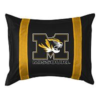 Missouri Tigers Standard Pillow Sham