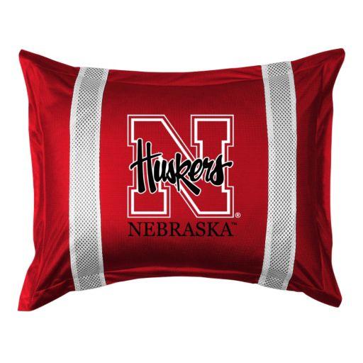 Nebraska Cornhuskers Standard Pillow Sham