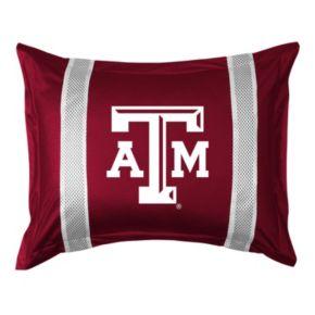 Texas A and M Aggies Standard Pillow Sham