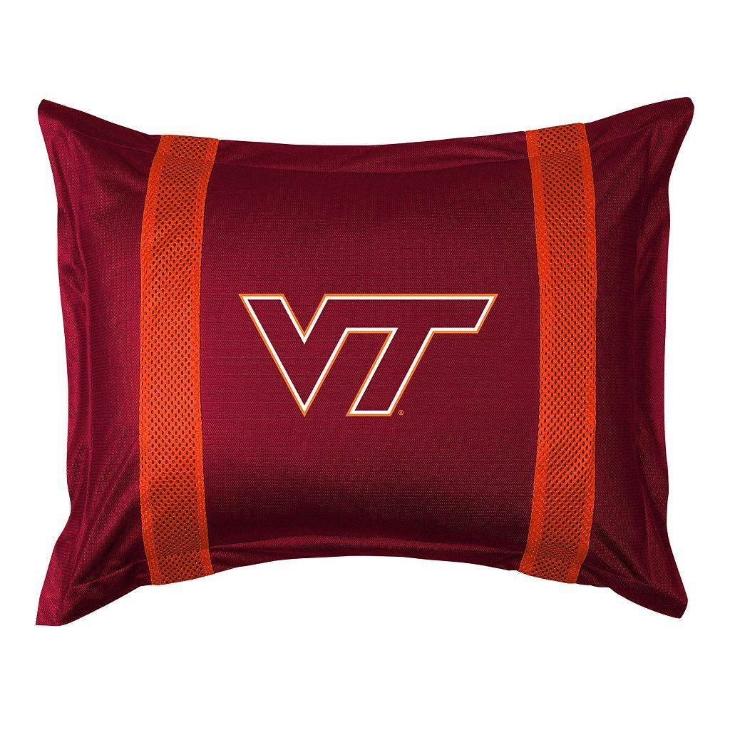 Virginia Tech Hokies Standard Pillow Sham
