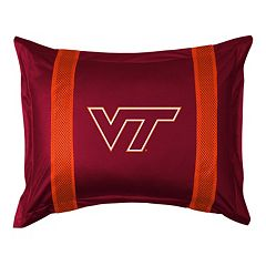 Virginia Tech Hokies Standard Pillow Sham