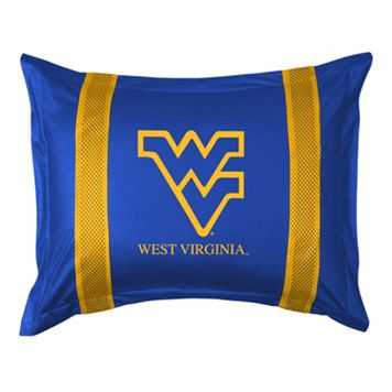 West Virginia Mountaineers Standard Pillow Sham
