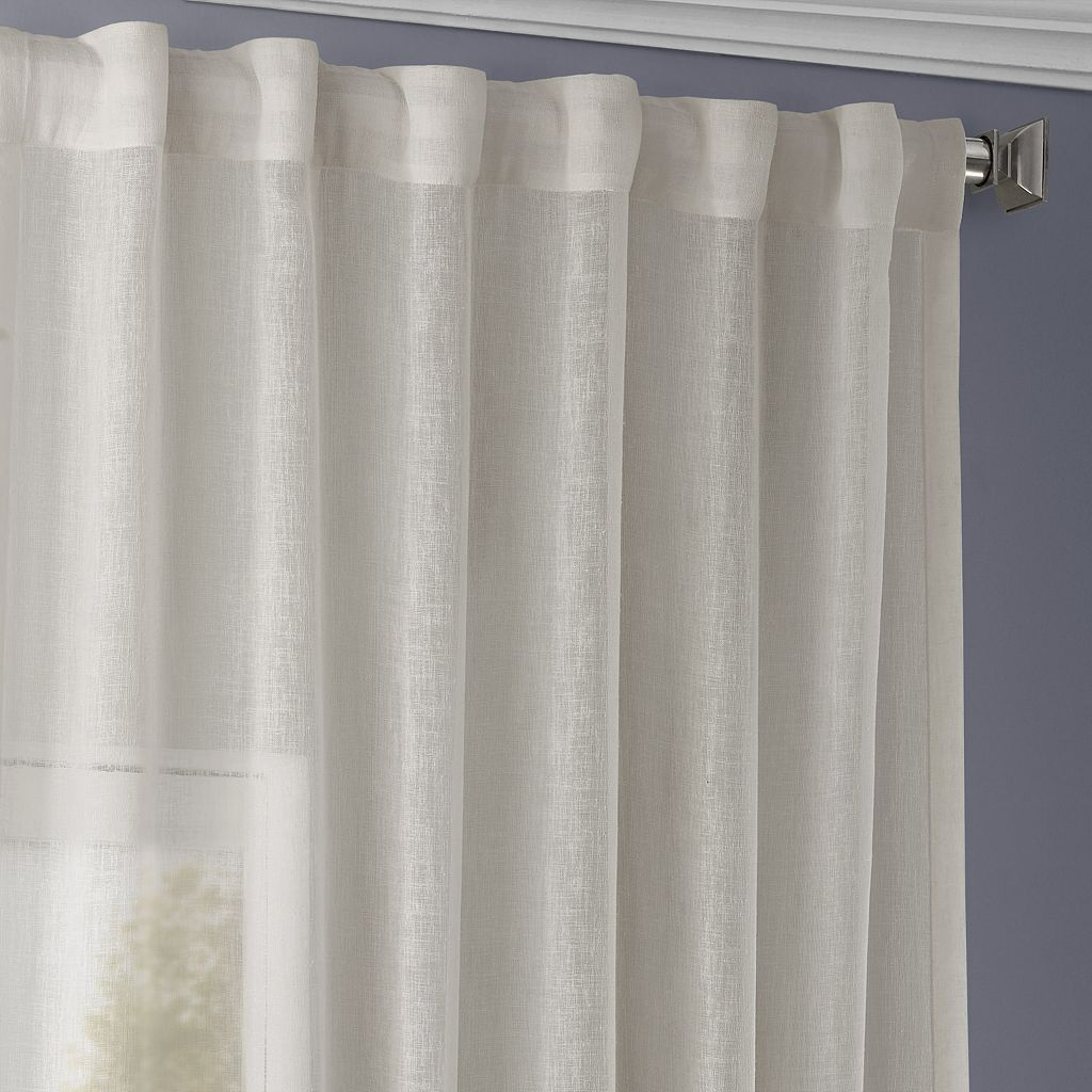 EFF Solid Sheer Window Panel - 50'' x 84''