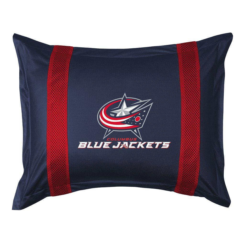 Columbus Blue Jackets Standard Pillow Sham