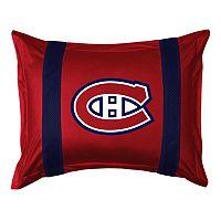 Montreal Canadiens Standard Pillow Sham