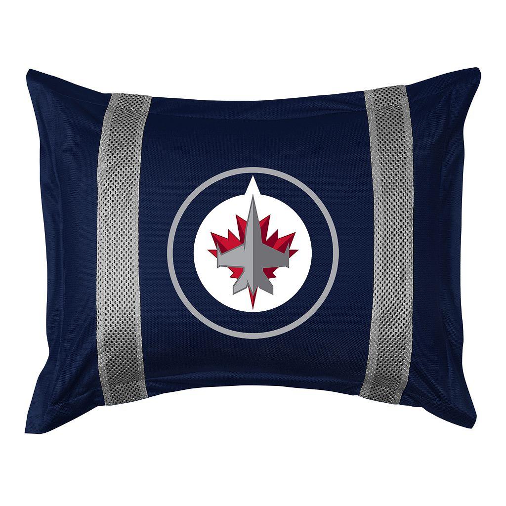 Winnipeg Jets Standard Pillow Sham