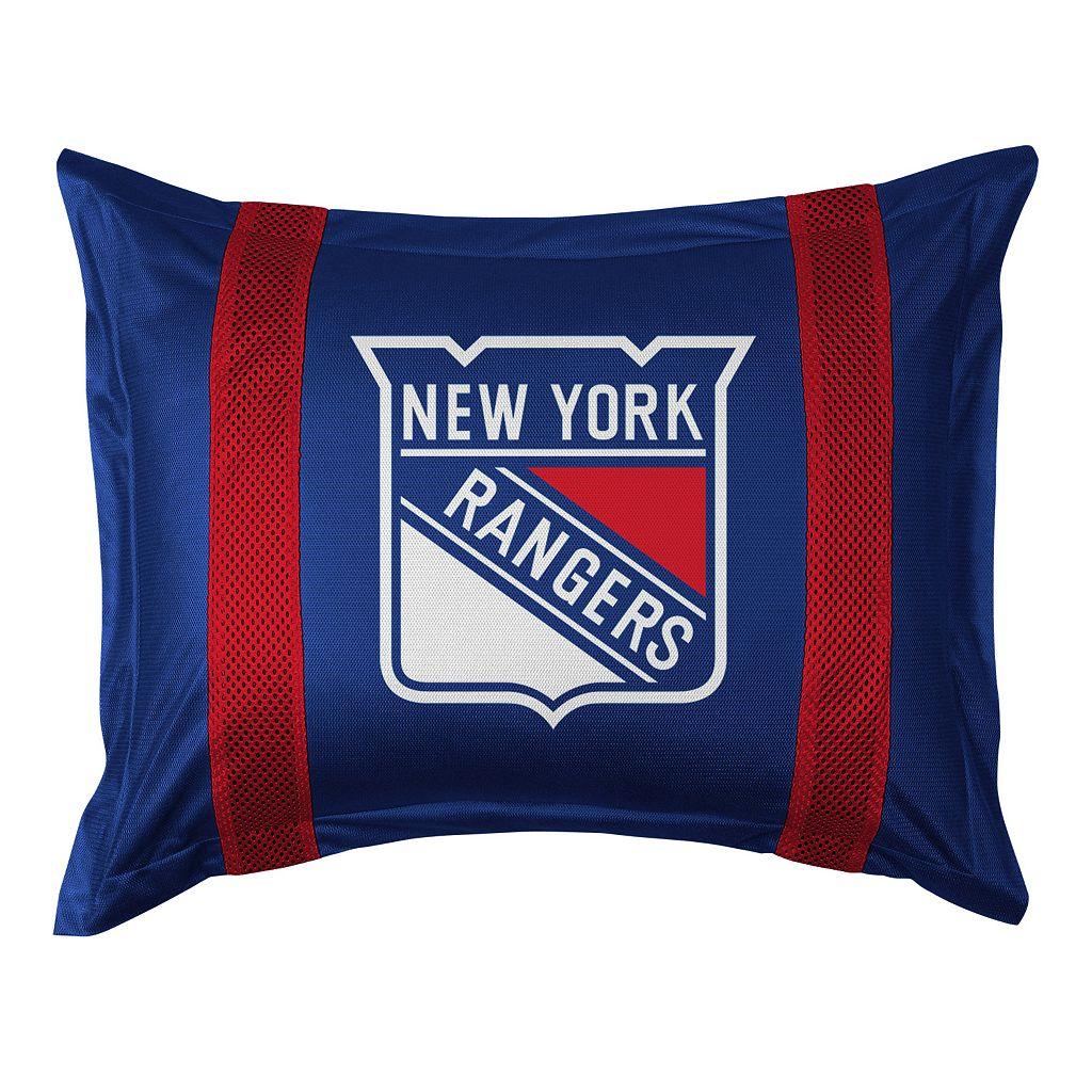 New York Rangers Standard Pillow Sham