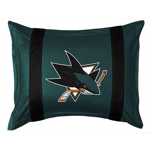 San Jose Sharks Standard Pillow Sham