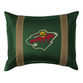 Minnesota Wild Standard Pillow Sham
