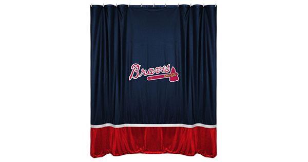 Atlanta Braves Shower Curtain