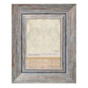 Belle Maison 5 x 7 Distressed Blue Frame