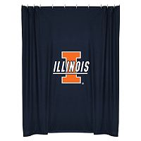 Illinois Fighting Illini Shower Curtain