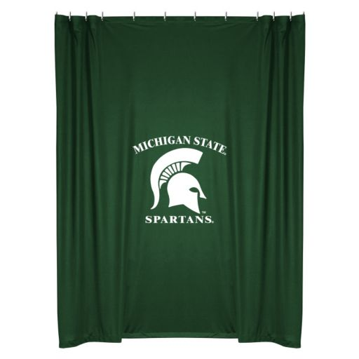 Michigan State Spartans Shower Curtain