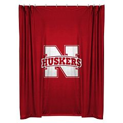 Nebraska Cornhuskers Shower Curtain