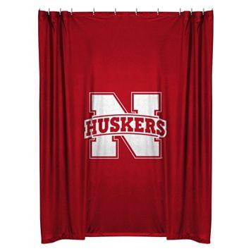Nebraska Cornhuskers Shower Curtain