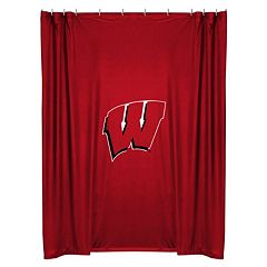 Wisconsin Badgers Shower Curtain