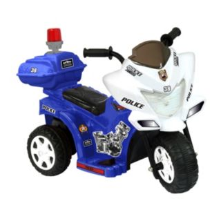 National Products 6V Police Tricycle Ride-On