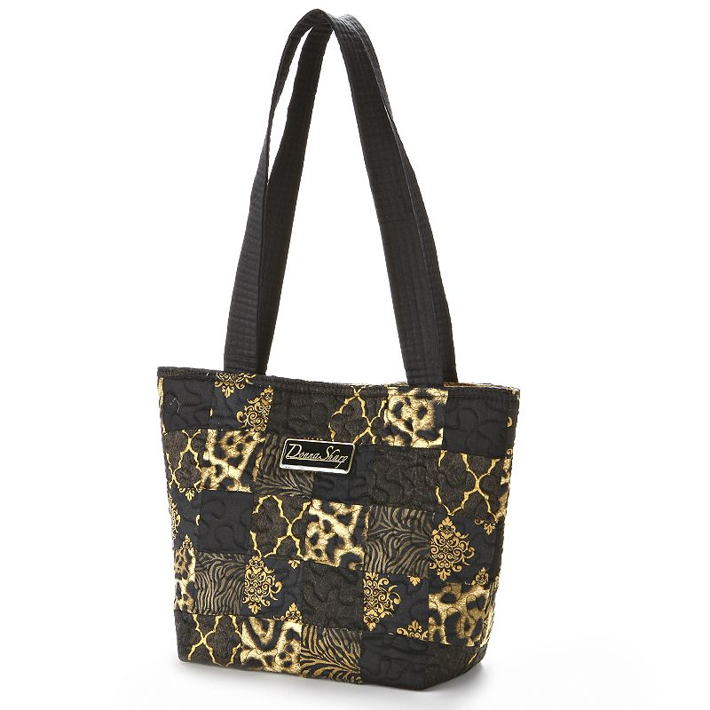 Donna Sharp Milan Animal Quilted Patchwork Tote