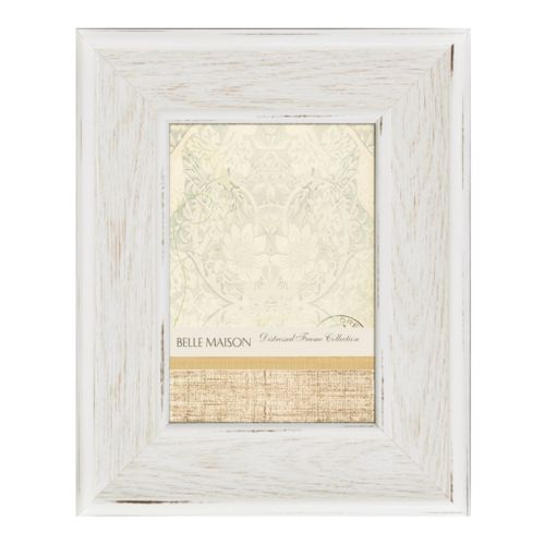 Belle Maison 5 x 7 Distressed White Frame