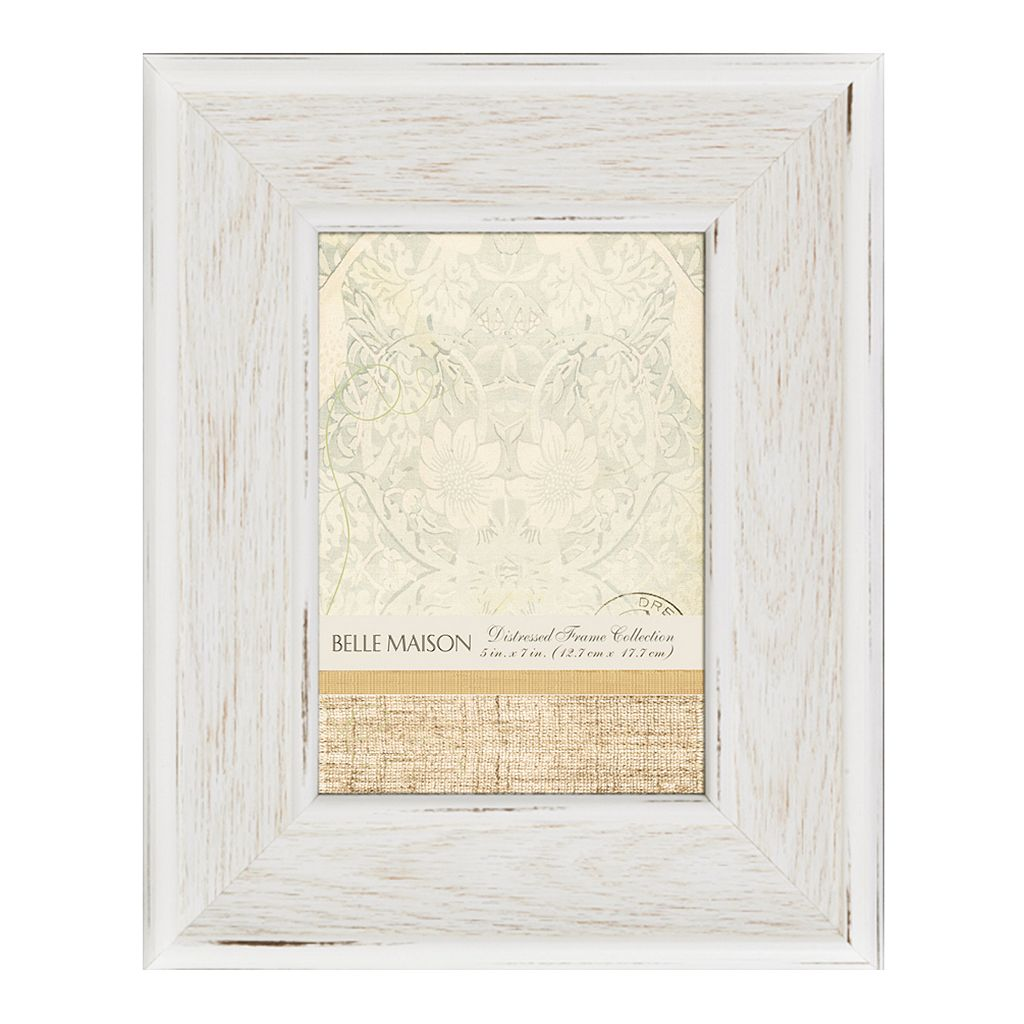 Belle Maison Weathered White Frame