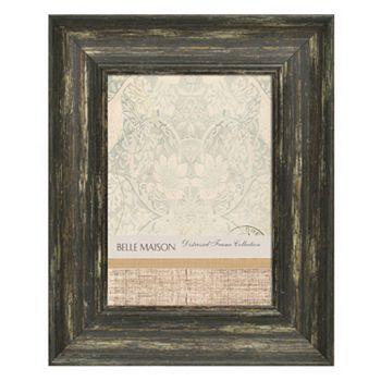 Belle Maison Weathered Black Frame
