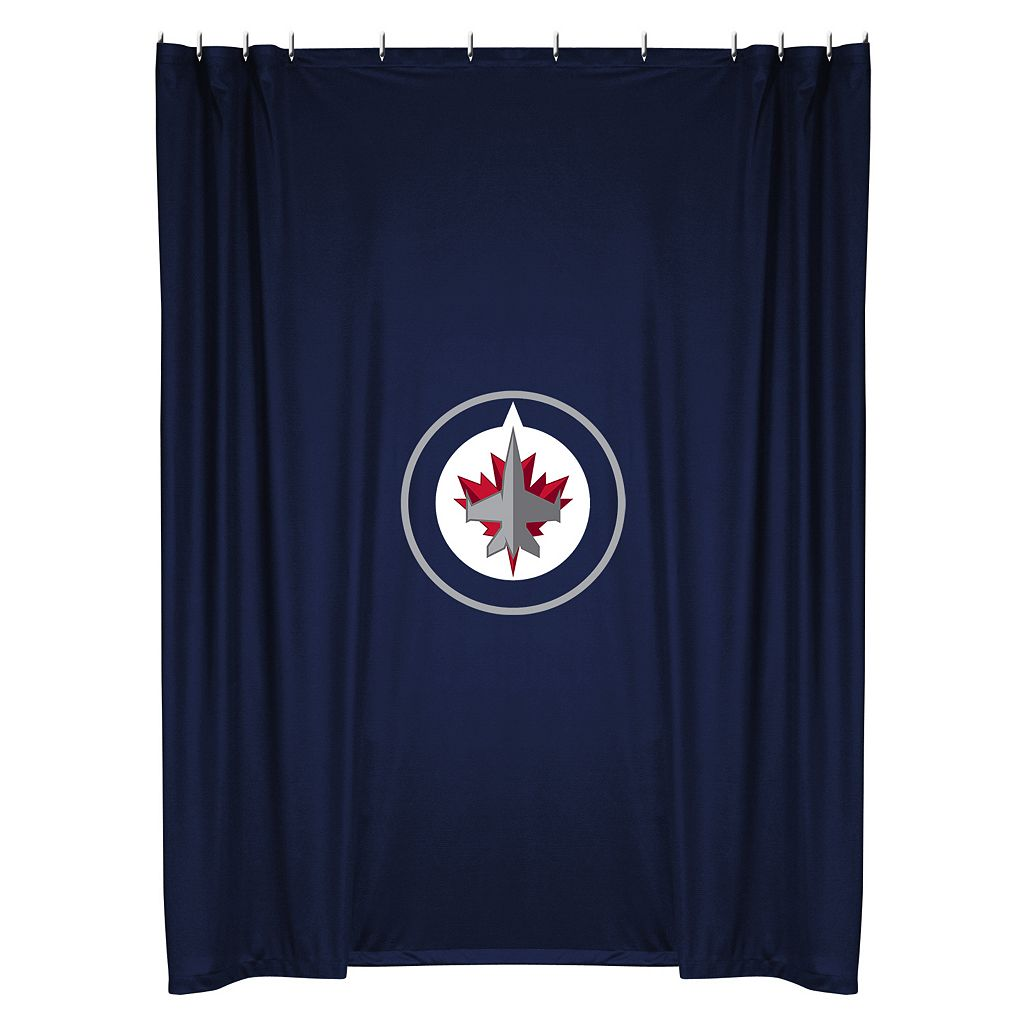 Winnipeg Jets Shower Curtain