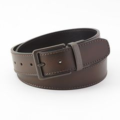 Levi's Tumbled-Leather Reversible Belt - Men