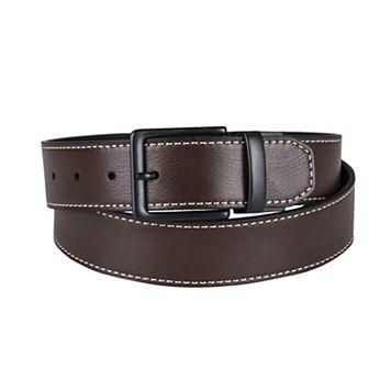 Levi's Tumbled-Leather Reversible Belt - Men