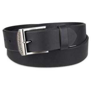 Men's Levi's® Logo Buckle Leather Belt
