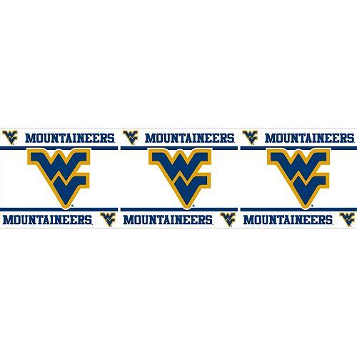 West Virginia Mountaineers Wall Border