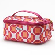 ELLE Cosmetics Modern Geometric Train Case