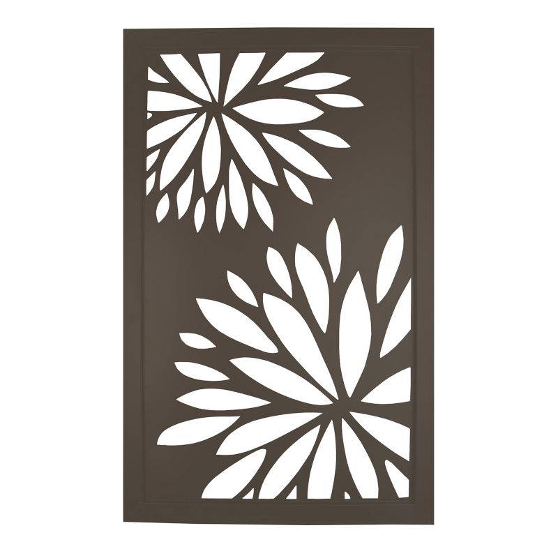 Floral Metal Wall Decor | Kohl's