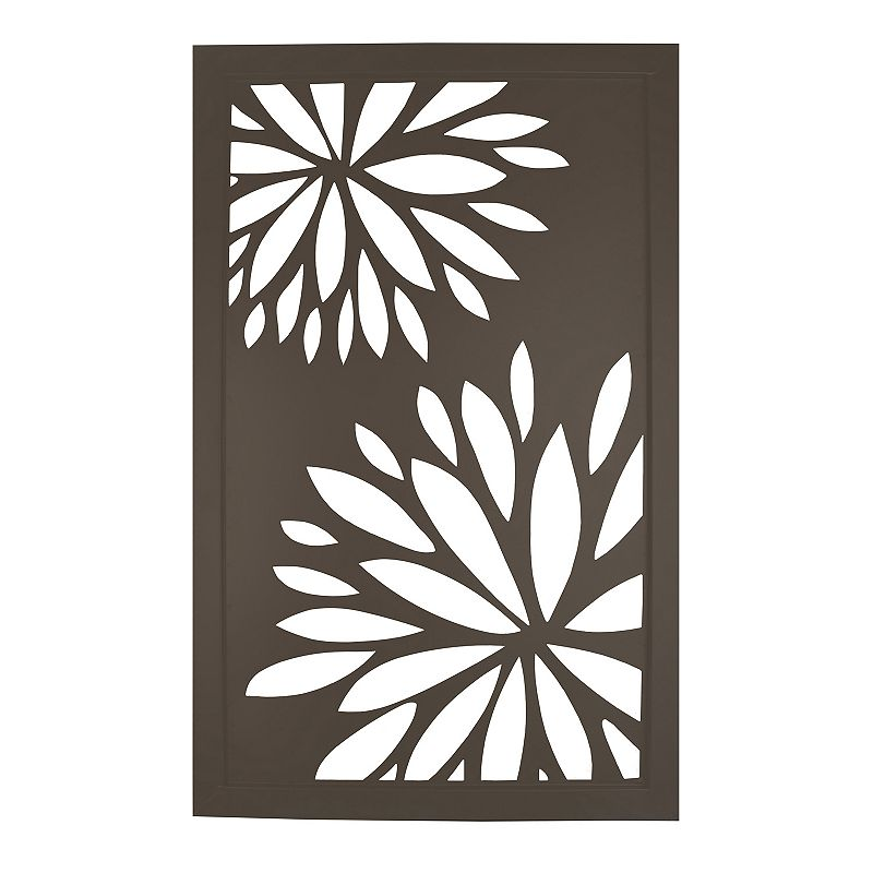 Floral Metal Wall Decor Kohl 39 S