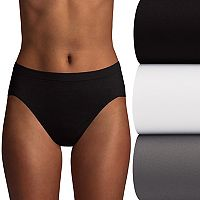 Bali 4 pkComfort Revolution Seamless Microfiber Hi-Cut Briefs K783
