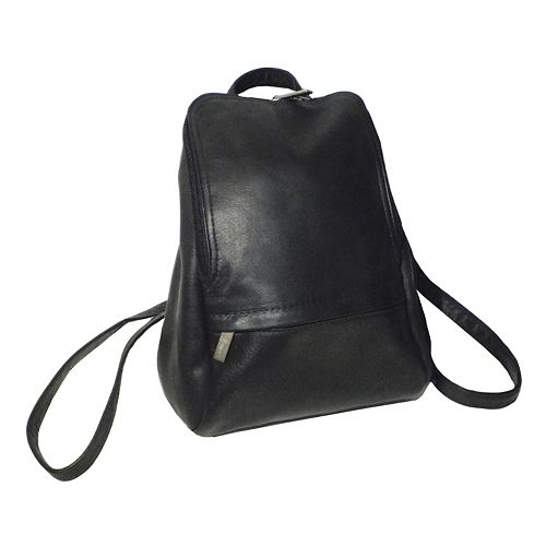 Royce Leather Vaquetta 10-in. Adjustable Backpack
