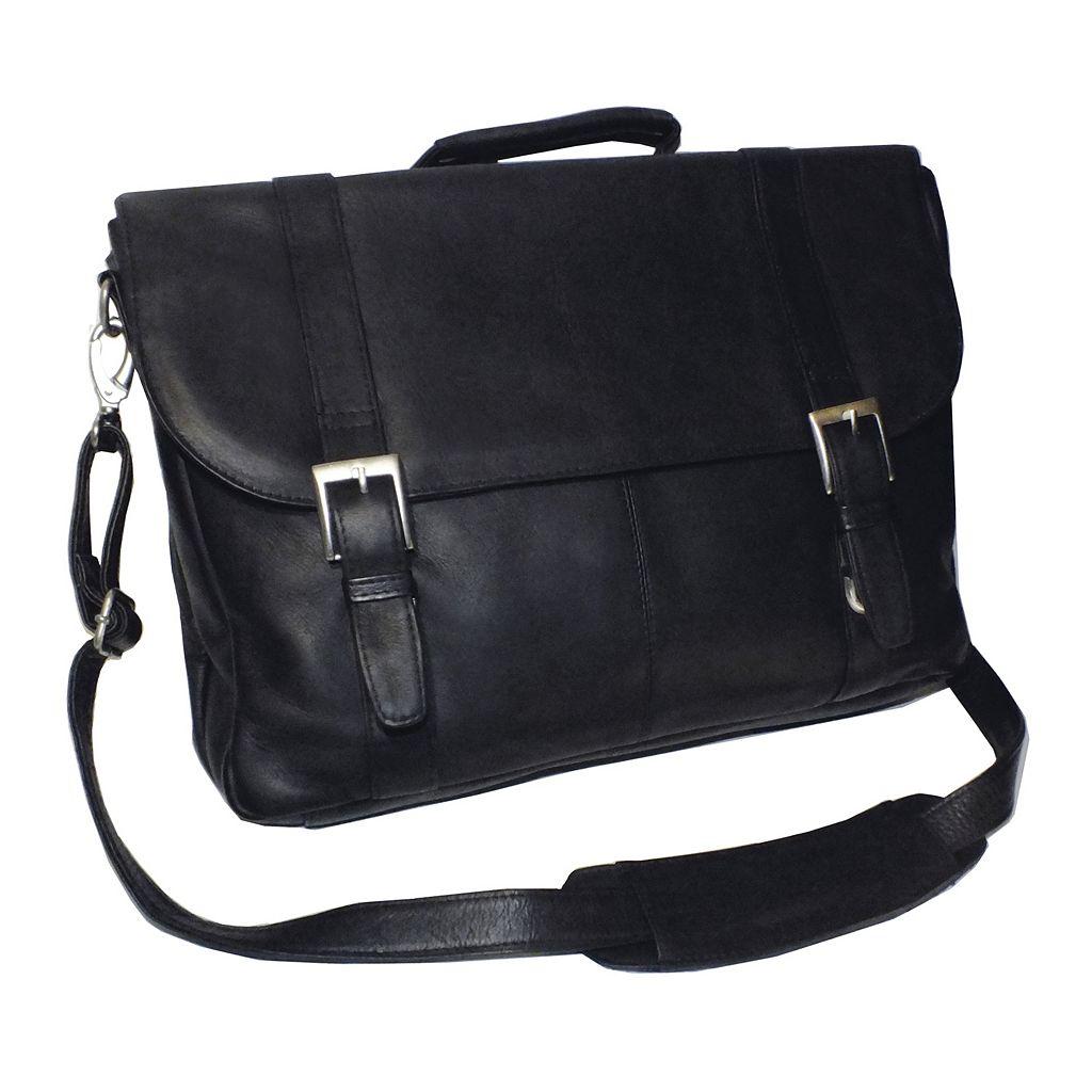 Royce Leather Vaquetta 17-in. Laptop Briefcase